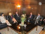 USAID delegation visit